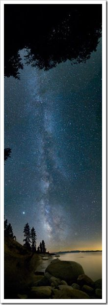stars and planets Boundary Water, Milkyway