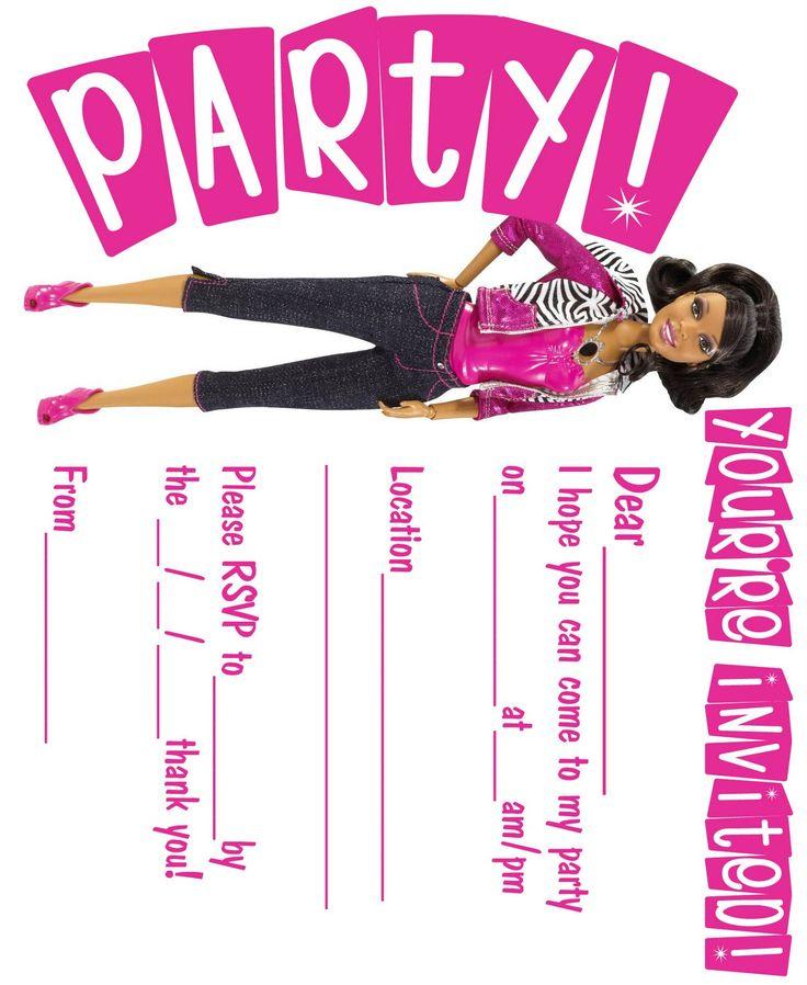129 best black barbie party images on Pinterest | Google search ...