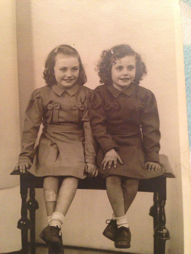 My Mum Barbara & her sister  Mary xxxxx