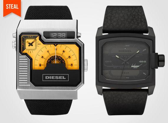 Diesel watches: Diesel Inspired Watch, Menswear Inspired Watch, Diesel Men Watch, Diesel Watch Men, Diesel Watches, Watches Watches, Men Watches