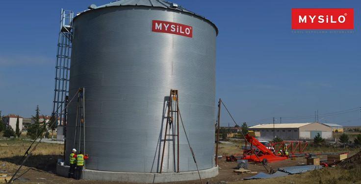 Mysilo Granja Tipo Silos se hacen teniendo en cuenta la conservación de la producción de los campos durante la cosecha. Infraestructura y el sistema de transporte es muy económico debido al simple. http://bit.ly/1MZ5hQn www.mysilo.com/es #Cereales #almacenamientodegranos #silo #silos