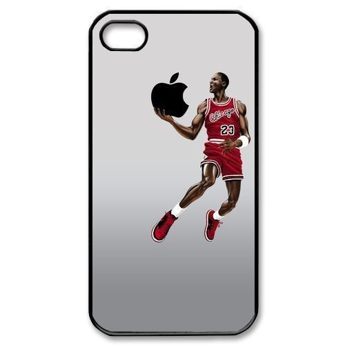 Michael Jordan Basketball Player Case Cover For iPhone 4 4S 5 5S 5C 6 6 PLUS