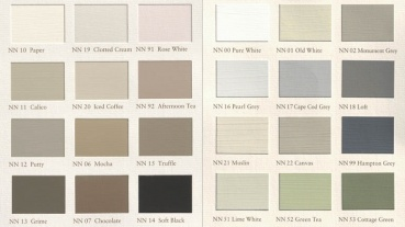 good shabby chic colors