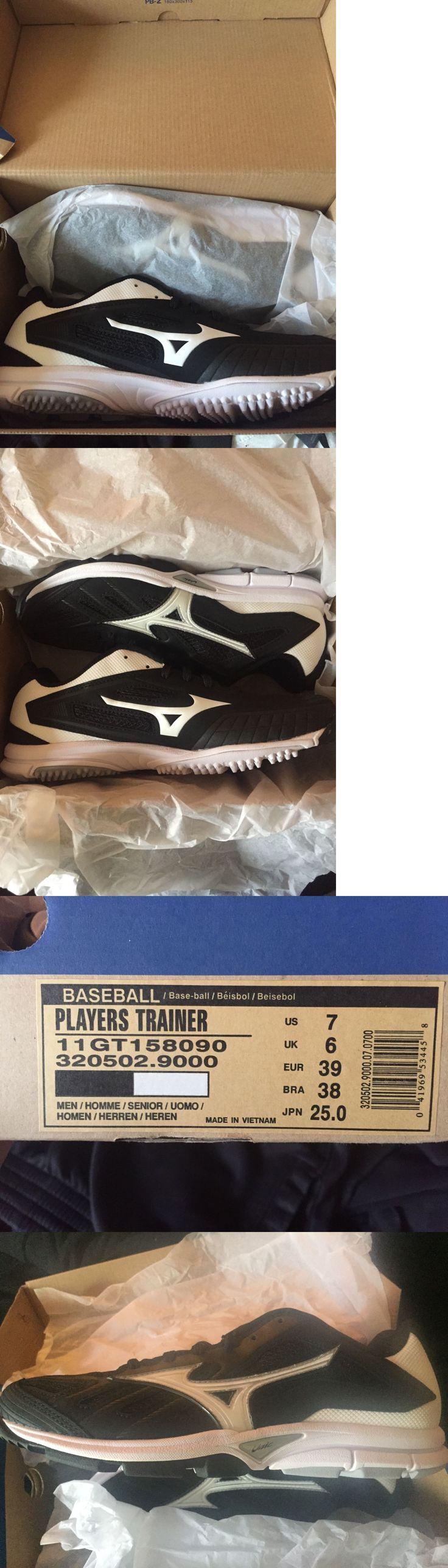Mens 159059: Mizuno Player S Trainer Men S Baseball Turf Shoes Nib Black White Various Sizes -> BUY IT NOW ONLY: $54.99 on eBay!