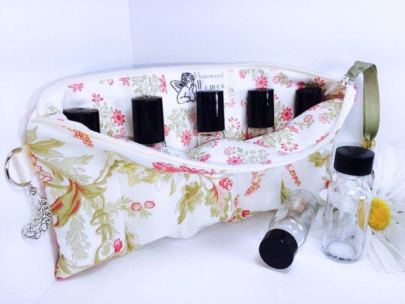 GORGEOUS Floral Essential Oil Storage Bag by PhenomenalWomenShop