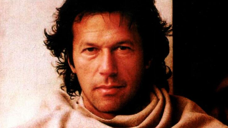 Pakistani politician, former cricketer Imran Khan.