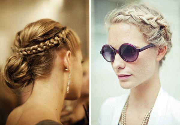 wedding hair ideas braids plaits