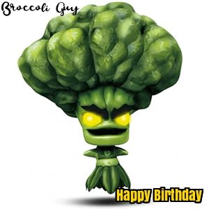 20 best skylander birthday cards images on pinterest skylanders skylanders broccoli guy birthday bookmarktalkfo Choice Image