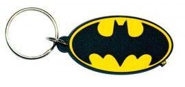 Batman Symbol - Rubber Keyring