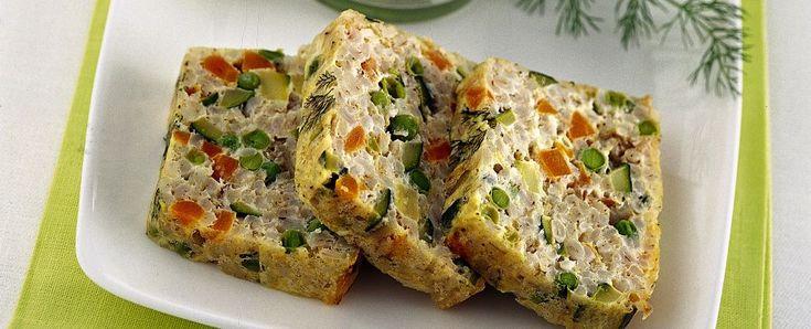 sformato-di-orzo-e-verdura-con-salsa-di-ricotta ricetta