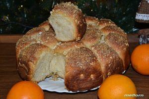 Фото к рецепту: Бананово-апельсиновые булочки
