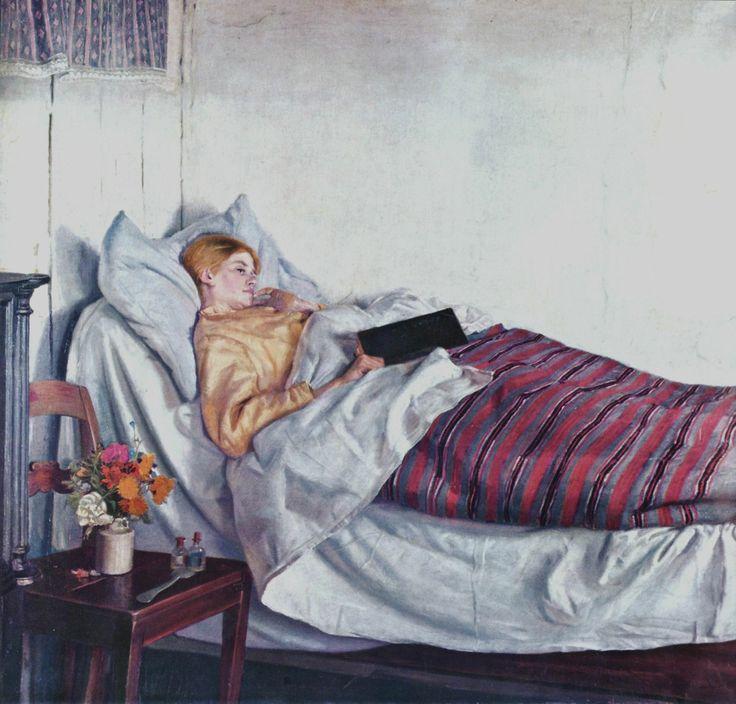 Ancher, Michael: Das kranke Mädchen