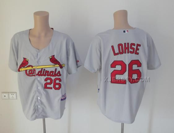 http://www.xjersey.com/st-louis-cardinals-26-lohse-white-jerseys.html ST. LOUIS CARDINALS 26 LOHSE WHITE JERSEYS Only $34.00 , Free Shipping!