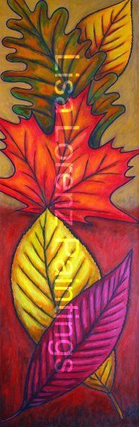 "Flora & Nature Art - Lisa Lorenz Paintings ""Colourful Canvases"""