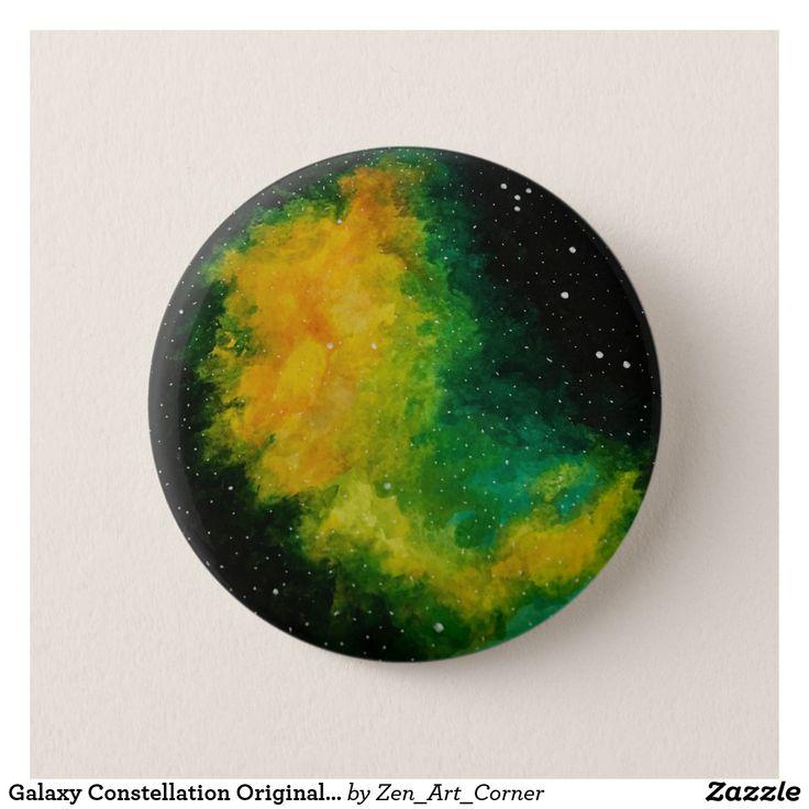 Galaxy Constellation Original Painting Badge