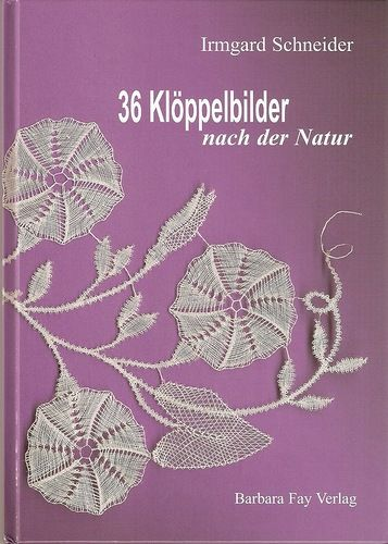 Bobbinlace patterns from Nature