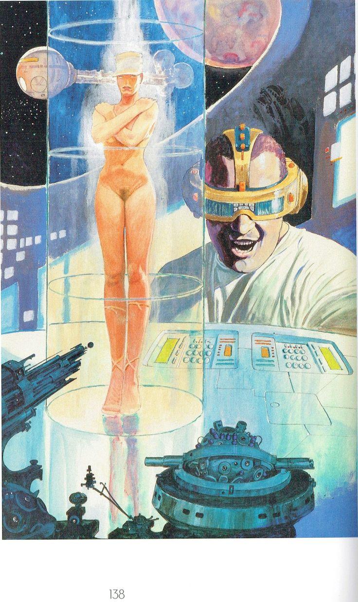 Milo Manara - Vol. 20, Il Pittore e la Modella-138 (La modella del futuro)