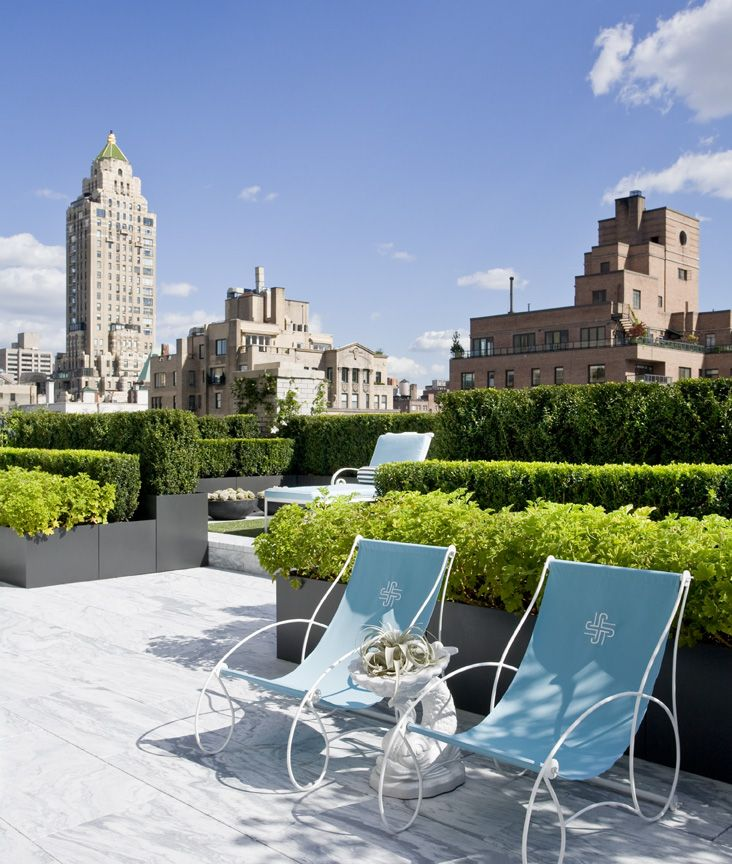 Spectacular rooftop terraces for Terrace plants