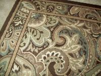 Shop allen + roth paisley park rectangular indoor woven area rug (common: 5  x actual: w x l) at
