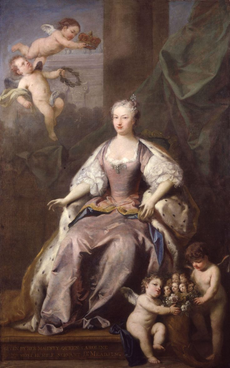 Queen Caroline, painted by Jacopo Amigoni in 1735