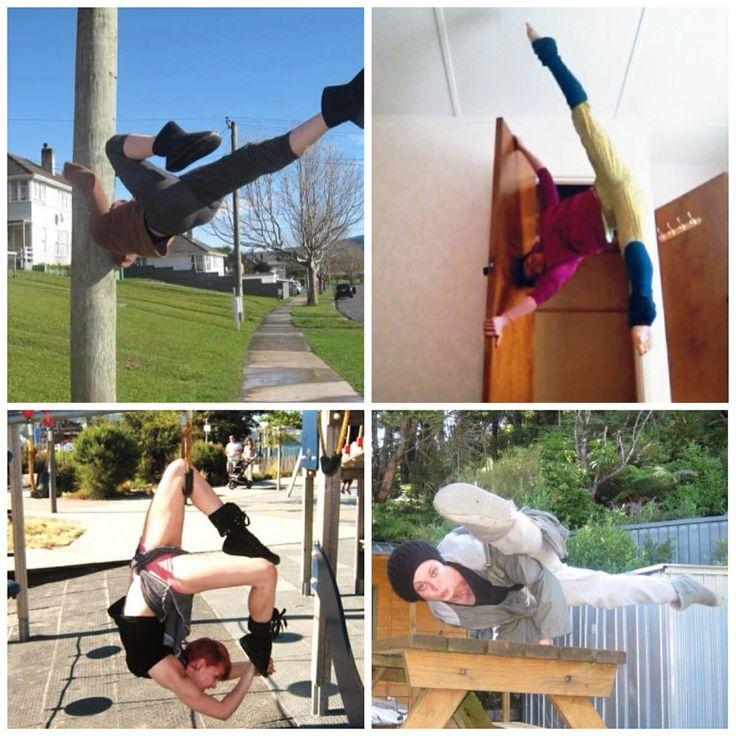 Follow @kapihuria on instagram for yoga fitness circus art and dance