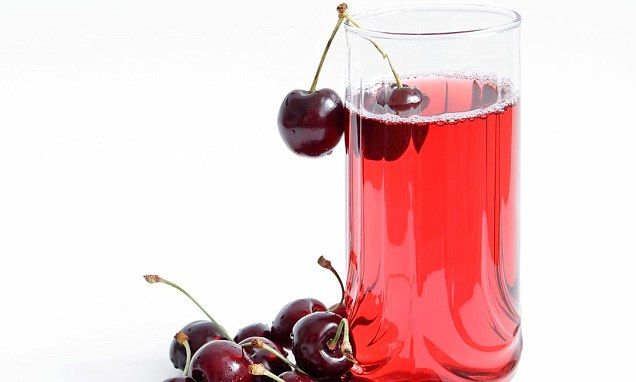 Fighting the agony of gout - with a daily glass of cherry juice #cherryactive