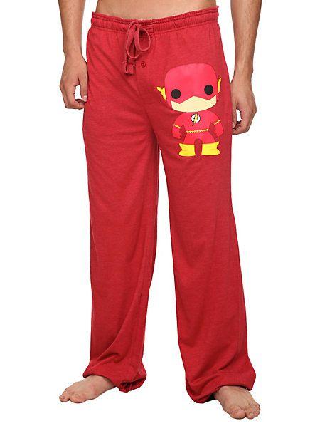 DC Comics Pop! The Flash Men's Pajama Pants   Hot Topic