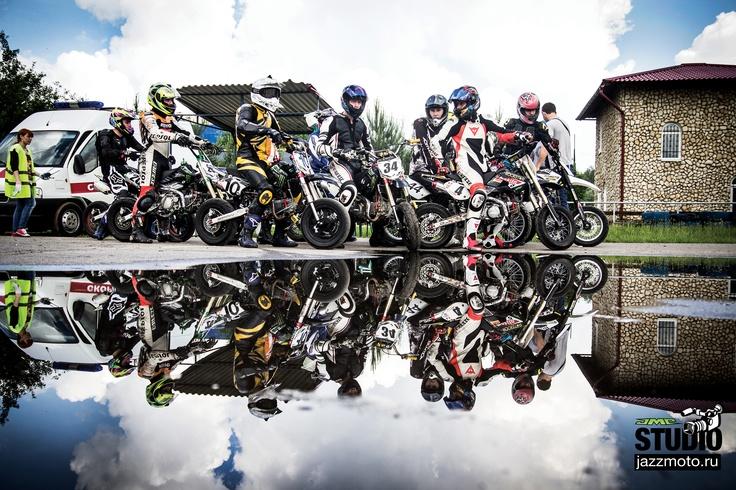 Pitbike Motard JMC Team Russia