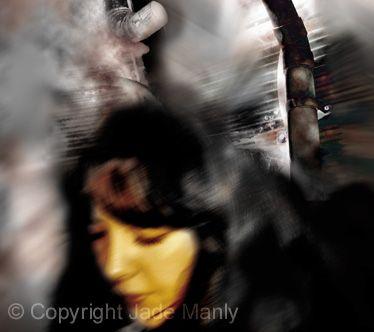"""Jade Manly """"Pipe Dreaming"""" Finalist Kinokuniya Digital Art Prize (2008)"""