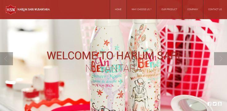 Website Demo 2. PT Harum Sari Nusantara #Web_Design_Jakarta #Web_Design_Company #Jasa_Web_Design #Jasa_Pembuatan_Website_Profesional