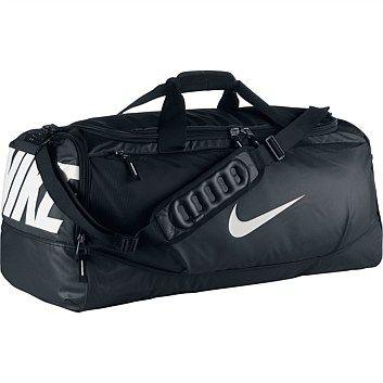 Rebel Sport - Nike Team Max Air Large Training Duffle Bag Black