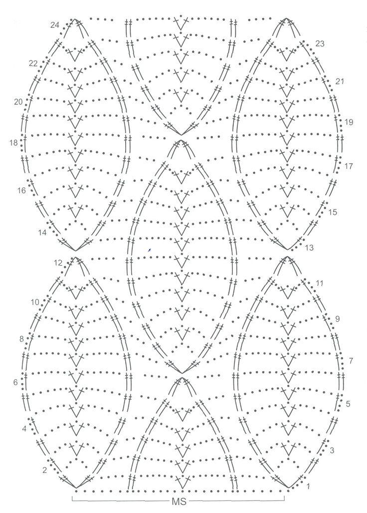 299 best oval crochet doily images on pinterest