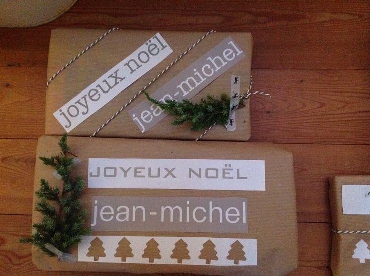 Paquet cadeau Noël 2014