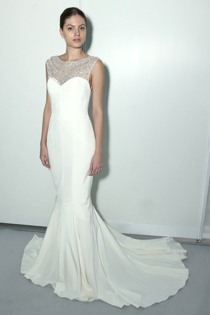 Nicole miller bridal fall 2014 photo by thomas iannaccone for Nicole miller wedding dresses nordstrom