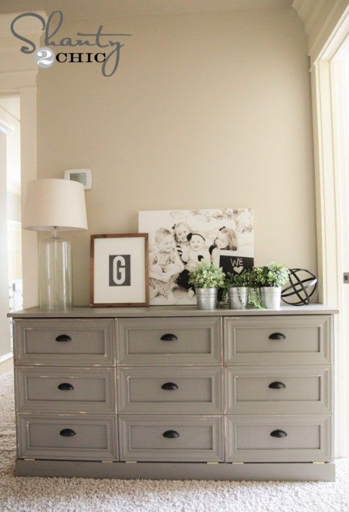 diy laundry basket dresser - Bedroom Dresser Decorating Ideas
