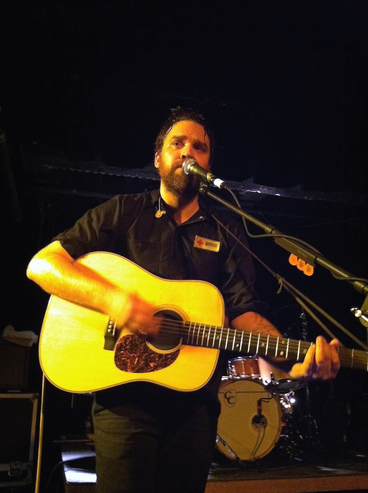 Scott Hutchinson lead singer of my favorite band Frightened Rabbit!!!!