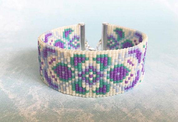 Loom armband Native armband geometrische armband etnische