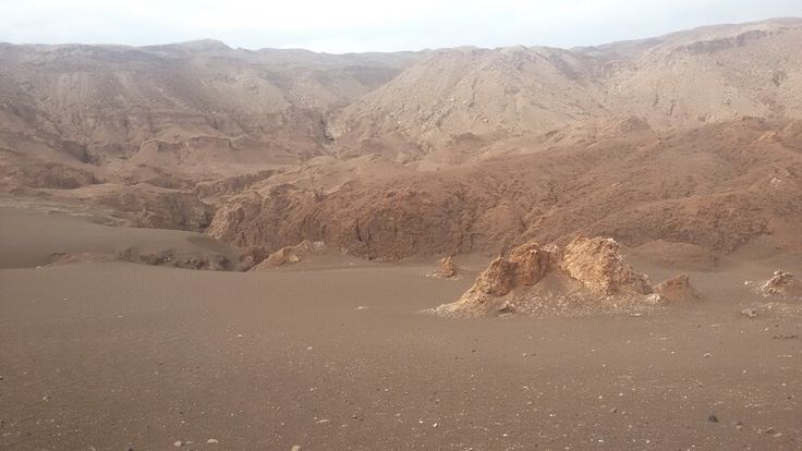 Valle de la Luna,  San Pedro de Atacama,  II región de Chile