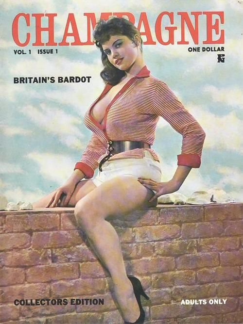 Champagne Magazine, Rosina RevelleVintage Erotica, Britain Bardot, Bizarre Magazines, Vintage Glamour, Champagne Magazines, Vintage Magazines, Pin Up, Classic Pin, Pinup Classic
