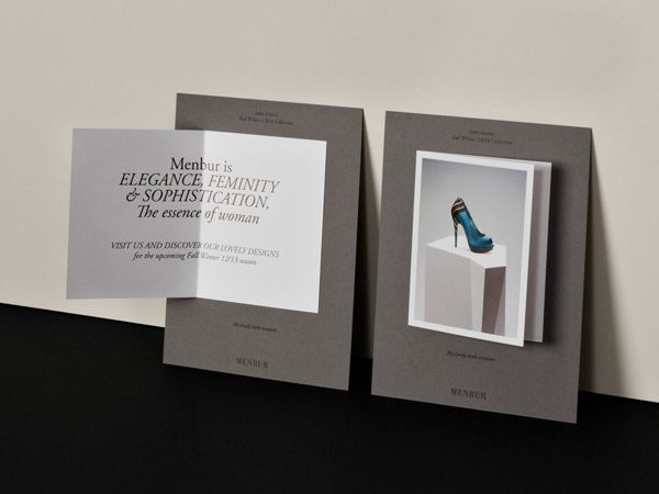 Menbur FW12 Collection Invite by Play , via Behance