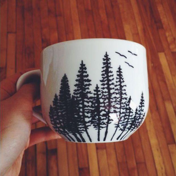 Forest - tasarım kupalar