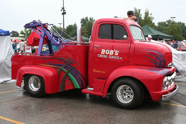 1951 Ford COE Tow Truck