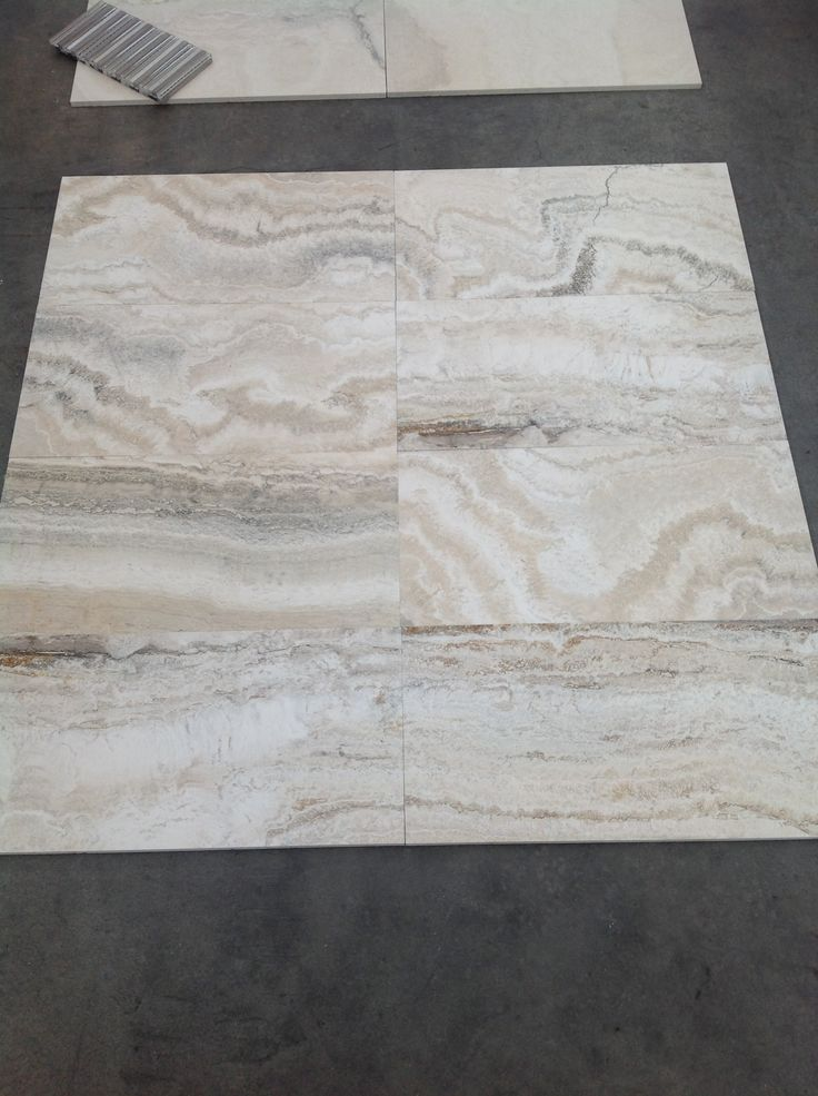 Aspen - vein cut. New material apart of our Italian travertine range!