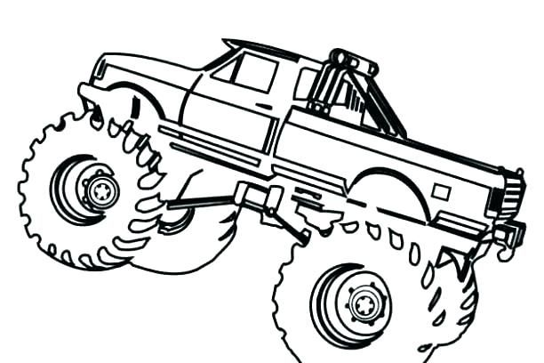 Monster Truck Coloring Pages Monster Truck Coloring Pages Monster Trucks Truck Coloring Pages