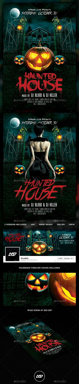 Halloween Flyer Template PSD #design Download: http://graphicriver.net/item/halloween-flyer/13150643?ref=ksioks