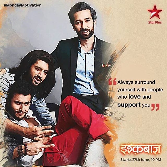 DO WATCH ISHQBAAAZ ONLY ON STAR PLUS AT 10PM EVERYDAY #ISHQBAAAZ  . 27TH June