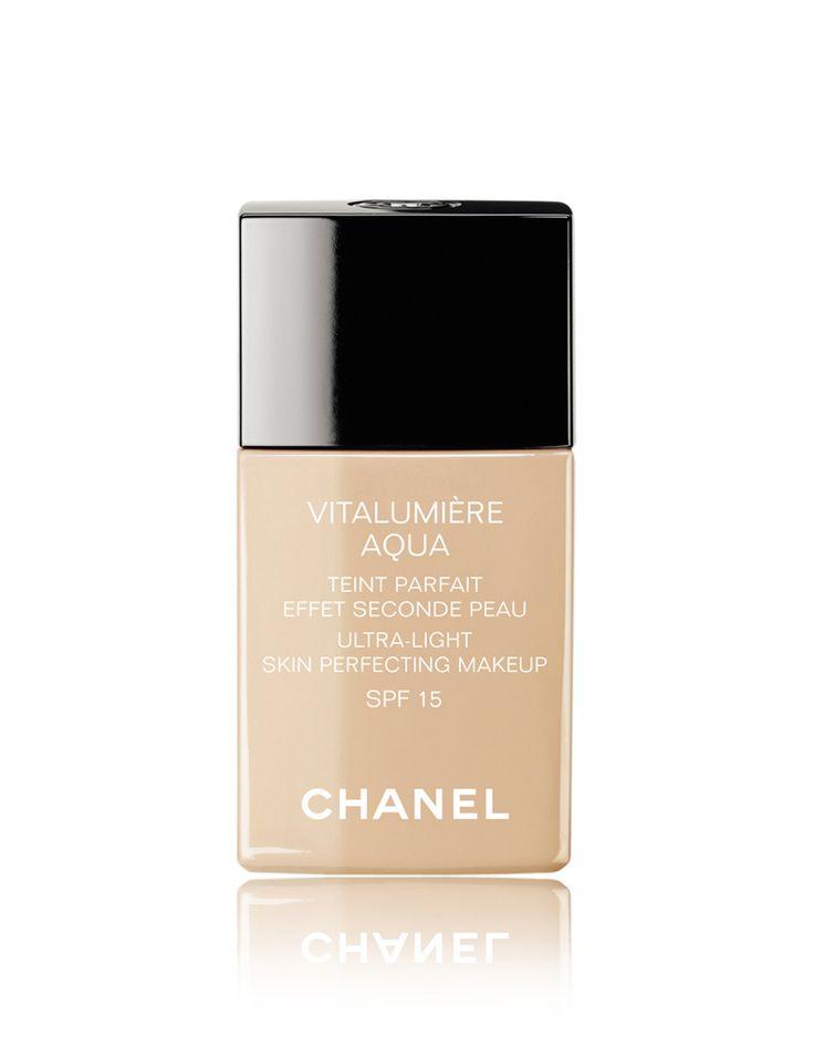Fond de teint Vitalumière Aqua, Chanel - Les meilleurs fonds de teint pour une jolie peau - Elle