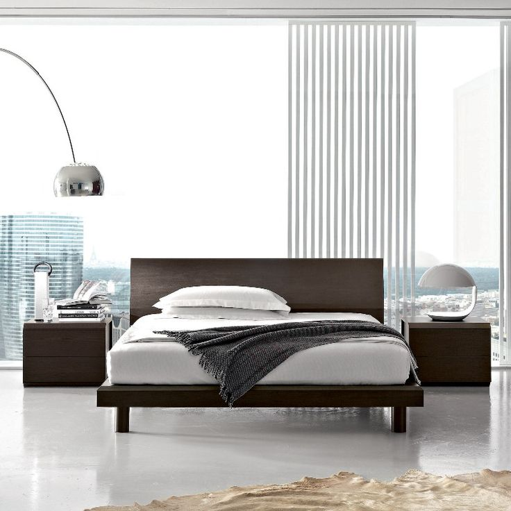 Our Lovely Fiume Bed Pure Clean Lines Give A Fresh Modern Feel