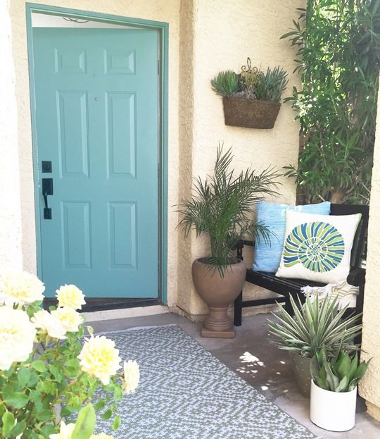 148 Best Spring Porch Decorating Ideas Images On Pinterest Flower Arrangements For The Home And Decor