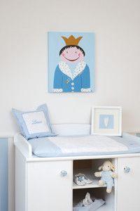Schnullerprinz, Bilder fürs Kinderzimmer, taufe, - Bilder für Kinderzimmer, Taufgeschenk